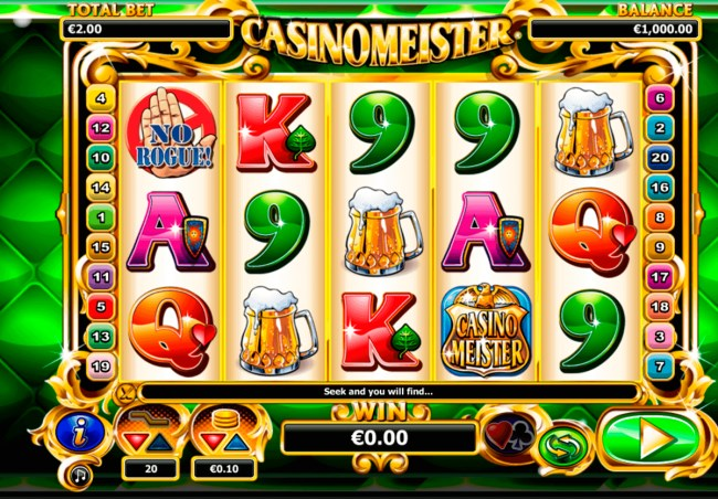 Мастер казино (Casinomeister)